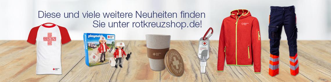 Bannerbild: Rotkreuzshop