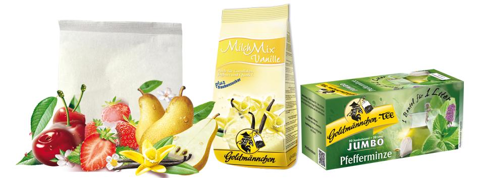 Goldmännchen Tee Musterpaket