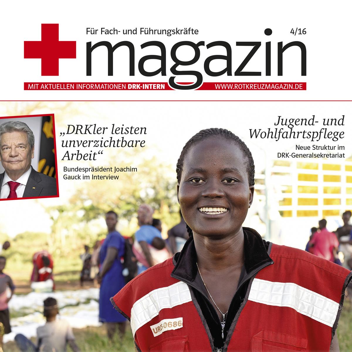 rotkreuzmagazin für Fach- und Führungskräfte DRK-Intern 4/16