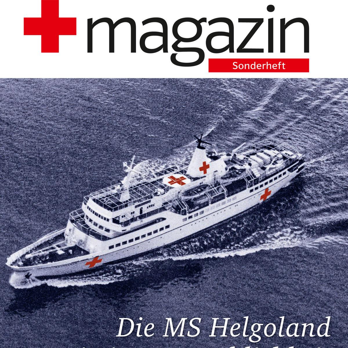 Sonderheft MS Helgoland Einsatz