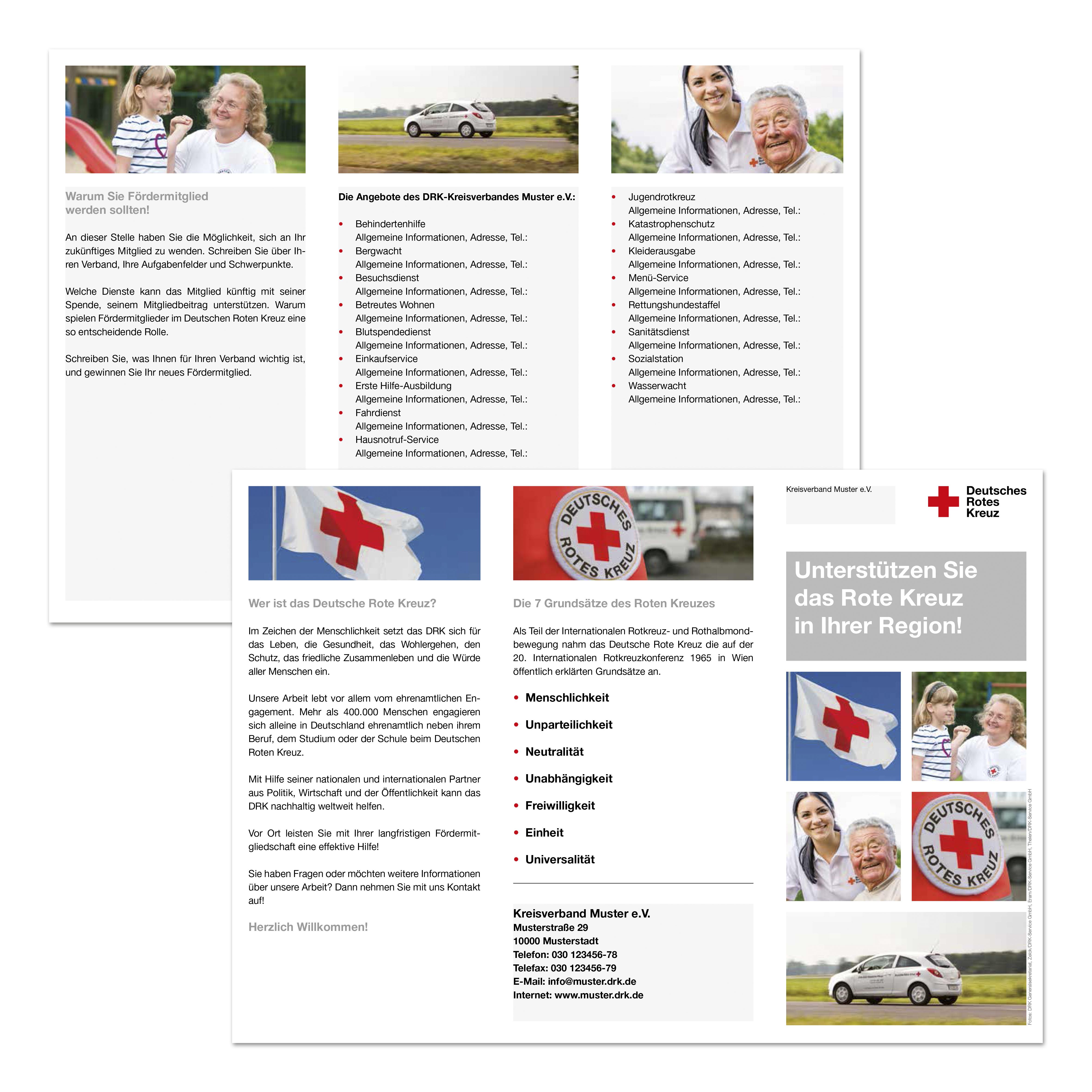 Faltblatt Mitgliedergewinnung