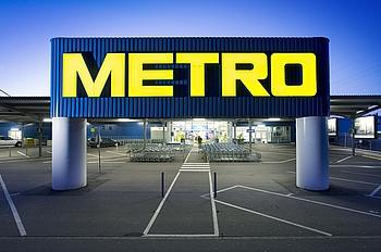 Metro Eingangsportal