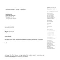 Formulare/Vorlagen