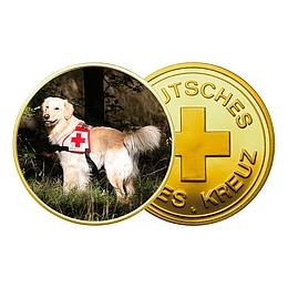 DRK-Medaille mit Wunschfoto