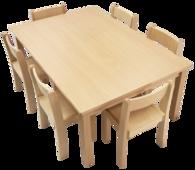 """Tisch-Stuhl-Kombi"""